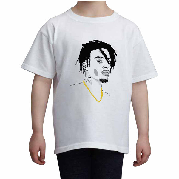 Playboi Carti Kids White Tee (Unisex) // Babes & Gents // www.babesngents.com
