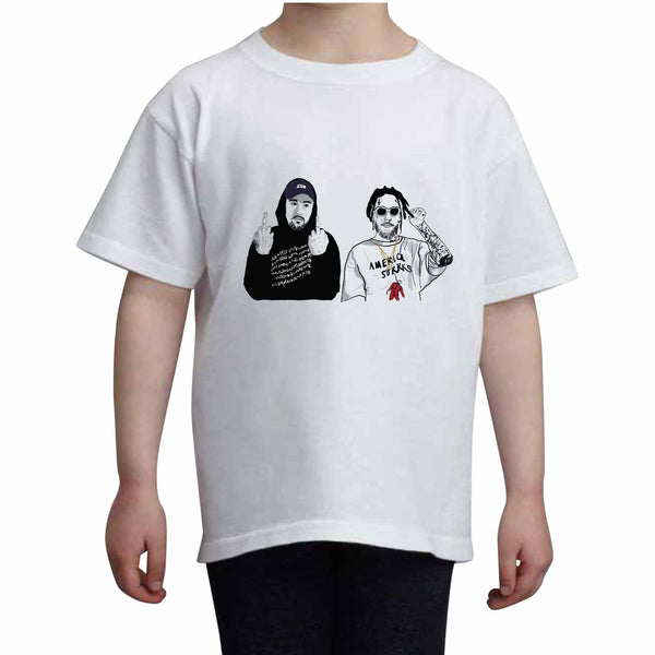 $uicideboy$ Suicide Boys Kids White Tee (Unisex) // Babes & Gents // www.babesngents.com