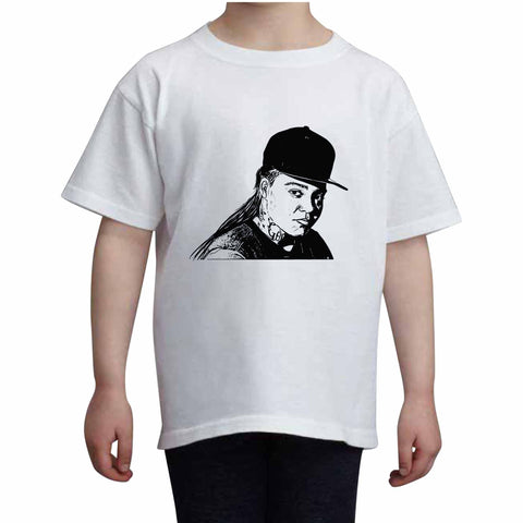 Young M.A. Kids White Tee (Unisex)