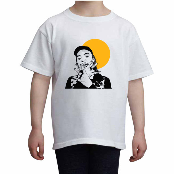 Keith Ape Kids White Tee (Unisex) // Babes & Gents // www.babesngents.com