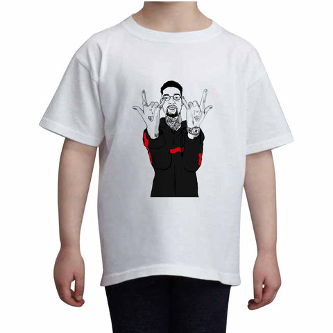 Pnb Rock Kids White Tee (Unisex)