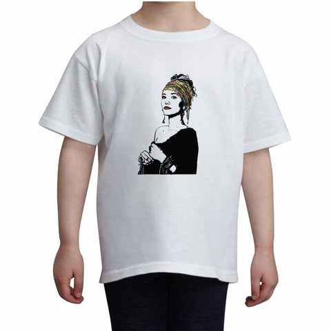 Lauren Daigle Kids White+Grey Tee (Unisex)