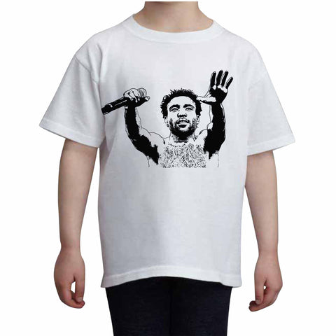 Childish Gambino 2 White Tee