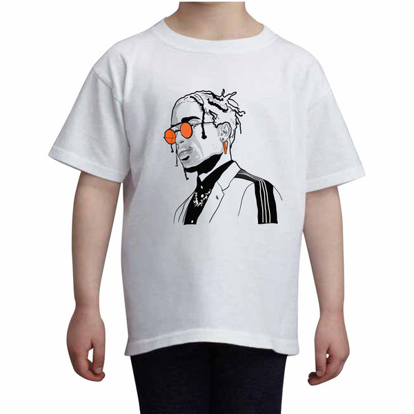 A$AP ASAP Rocky Vlone Kids White Tee (Unisex) // Babes & Gents // www.babesngents.com