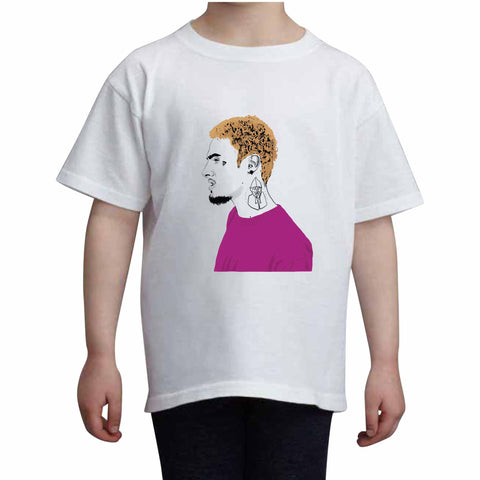Wifisfuneral Kids White Tee (Unisex)