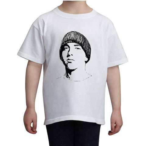 Eminem 2 Kids White+Grey Tee (Unisex)
