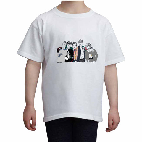Big Bang Kids White Tee (Unisex)