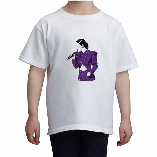 Selena Kids White Tee (Unisex) // Babes & Gents // www.babesngents.com