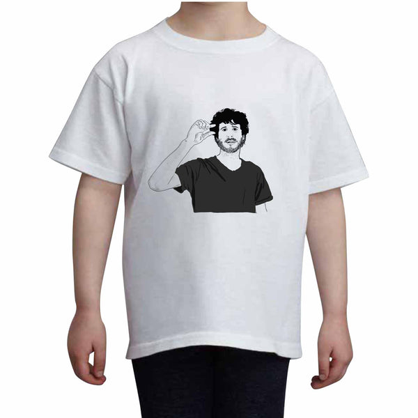 Lil Dicky Kids White Tee (Unisex) // Babes & Gents // www.babesngents.com