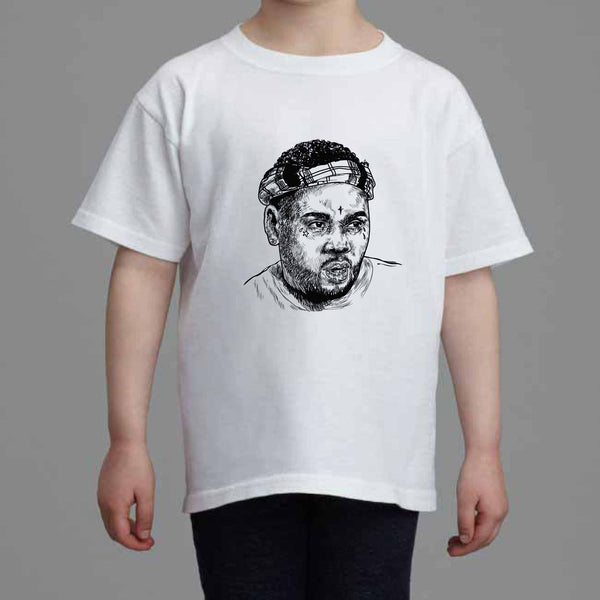 Kevin Gates BWA Kids White Tee (Unisex) // Babes & Gents // www.babesngents.com