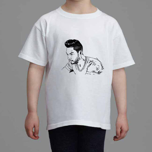 Miguel Kids White Tee (Unisex) // Babes & Gents // www.babesngents.com