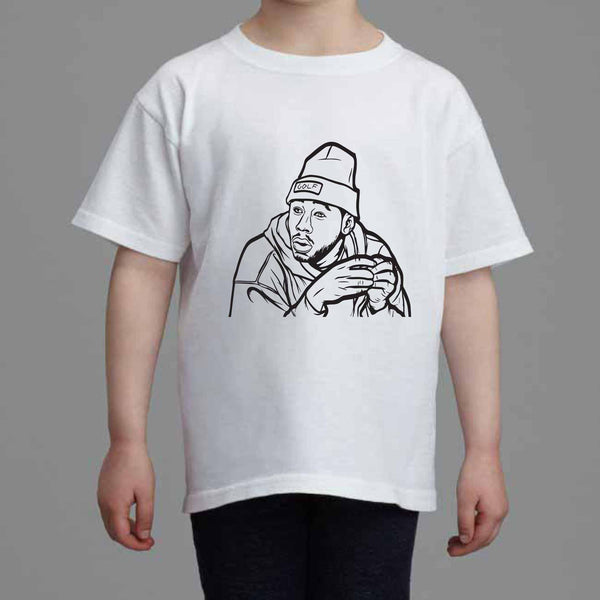 Tyler The Creator Golf Kids White Tee (Unisex) // Babes & Gents // www.babesngents.com