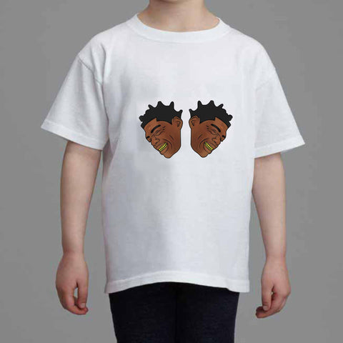 Kodak Black Color Kids White Tee (Unisex)