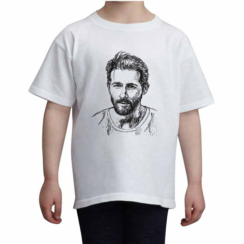 Ryan Reynolds Kids White+Grey Tee (Unisex)