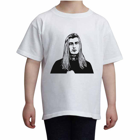 Ghostemane Kids White+Grey Tee (Unisex)