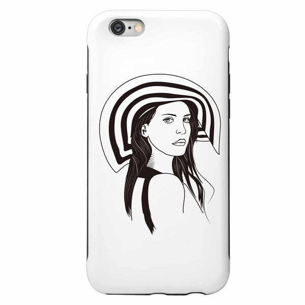 Lana Del Rey Honeymoon Apple IPhone 4 5 5s 6 6s Plus Galaxy Case // Born to Die Unique Artsy Design // Babes & Gents // www.babesngents.com