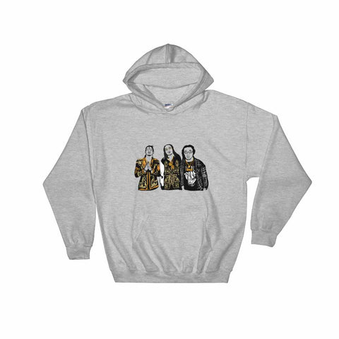 Migos Quavo Offset Takeoff Grey Hoodie Sweater (Unisex)