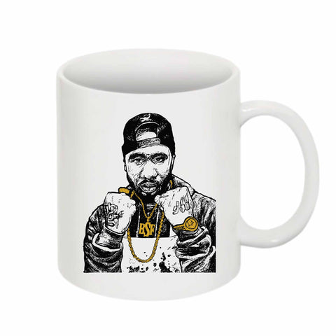 Benny the Butcher 11 0Z Ceramic White Mug