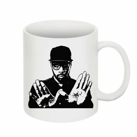 RZA 11 0Z Ceramic White Mug
