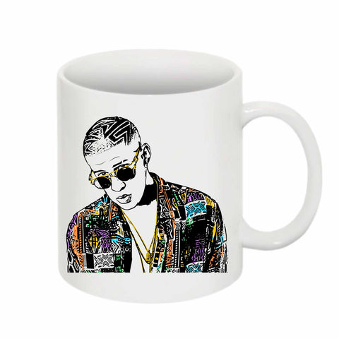 Bad Bunny 11 0Z Ceramic White Mug