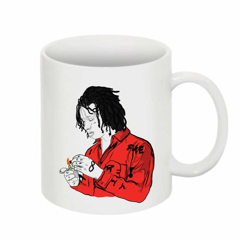Trippie Redd Love Scars 11 0Z Ceramic White Mug