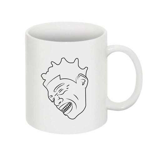 Kodak Black BW 11 0Z Ceramic White Mug