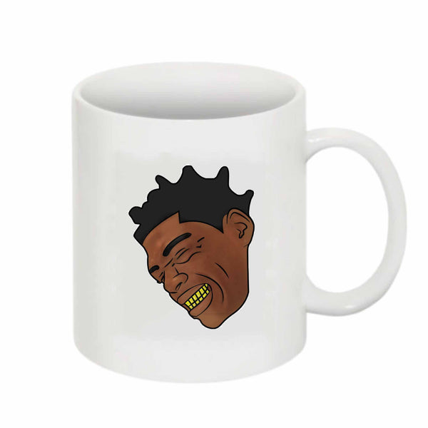Kodak Black color 11 0Z Ceramic White Mug // Babes & Gents // www.babesngents.com