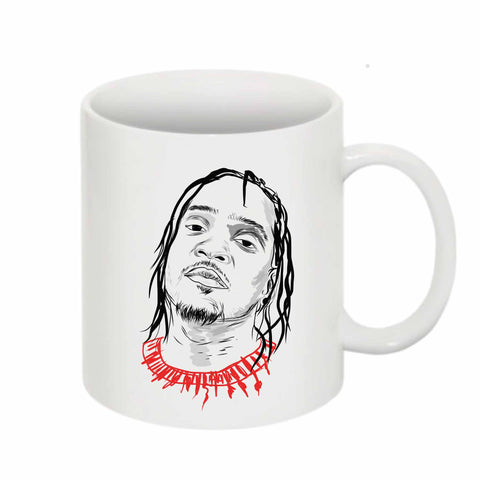 Pusha T 11 0Z Ceramic White Mug