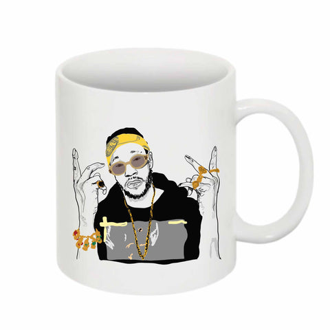 2 Chainz two 11 0Z Ceramic White Mug