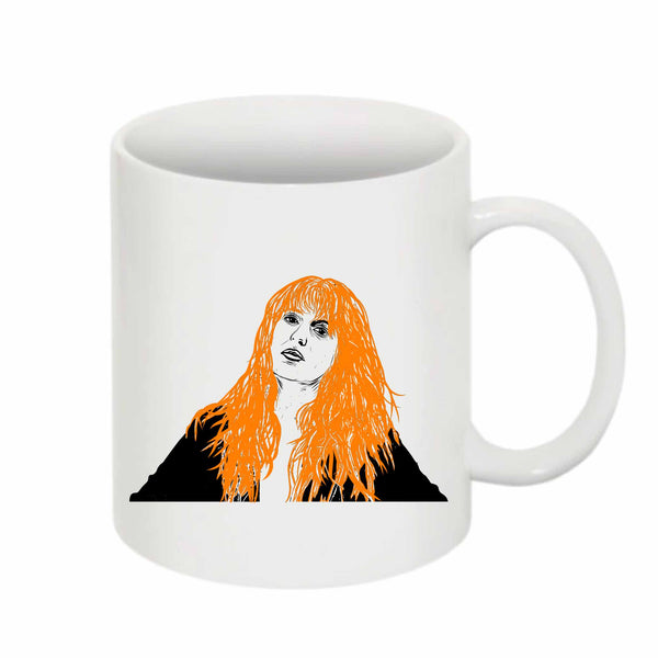 Florence + the Machine 11 0Z Ceramic White Mug // Babes & Gents // www.babesngents.com