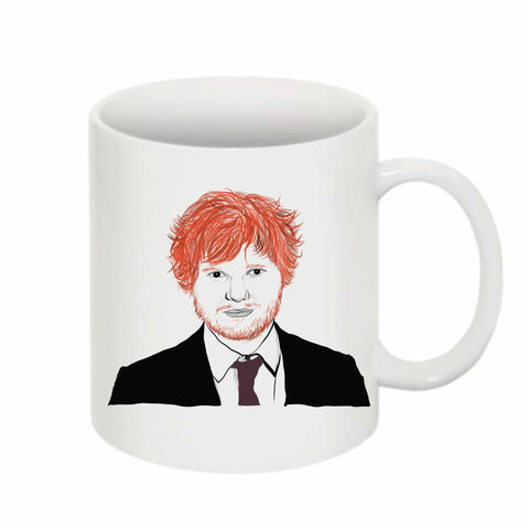 Ed Sheeran 11 0Z Ceramic White Mug