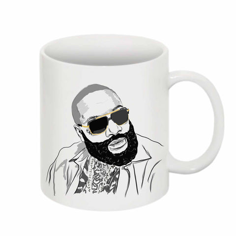 Rick Ross 11 0Z Ceramic White Mug