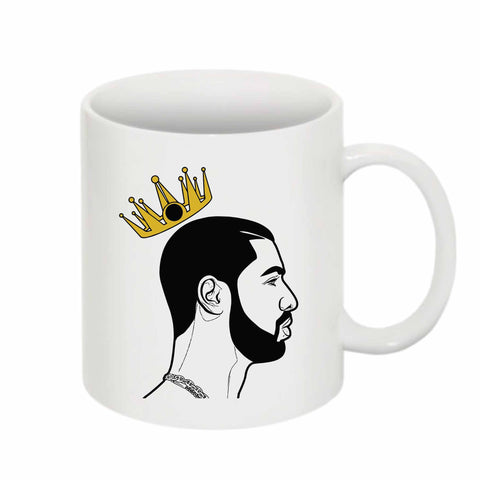 Drake is King 11 0Z Ceramic White Mug