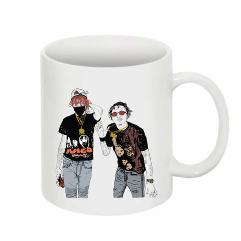Famous Dex and Rich the Kid 11 0Z Ceramic White Mug