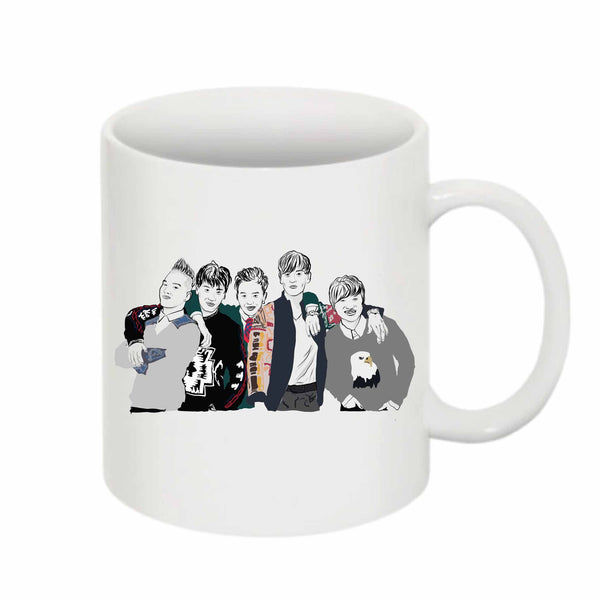 Big Bang 11 0Z Ceramic White Mug // Babes & Gents // www.babesngents.com