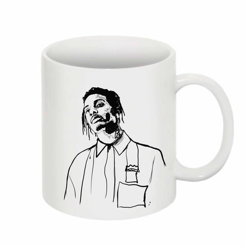 Playboi Carti Die Lit 11 0Z Ceramic White Mug