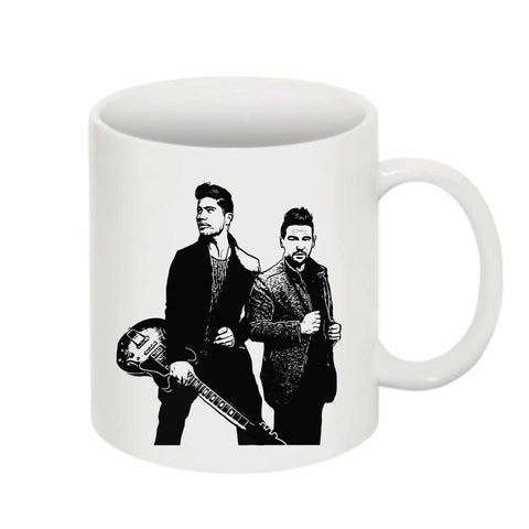Dan + Shay 11 0Z Ceramic White Mug