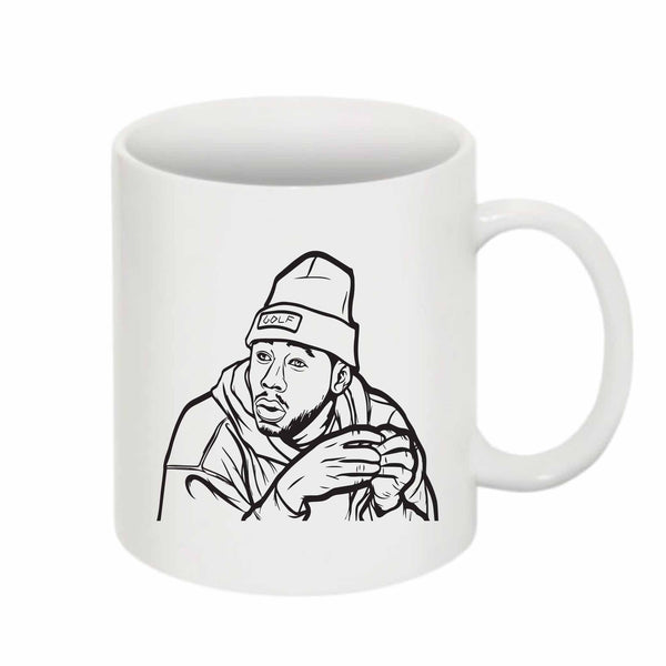 Tyler The Creator Golf 11 0Z Ceramic White Mug // Babes & Gents // www.babesngents.com