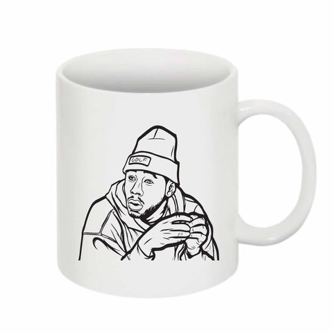 Tyler The Creator Golf 11 0Z Ceramic White Mug