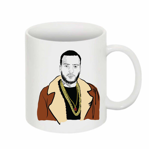 French Montana 11 0Z Ceramic White Mug // Babes & Gents // www.babesngents.com