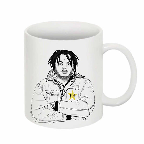 Tee Grizzley 11 0Z Ceramic White Mug // Babes & Gents // www.babesngents.com
