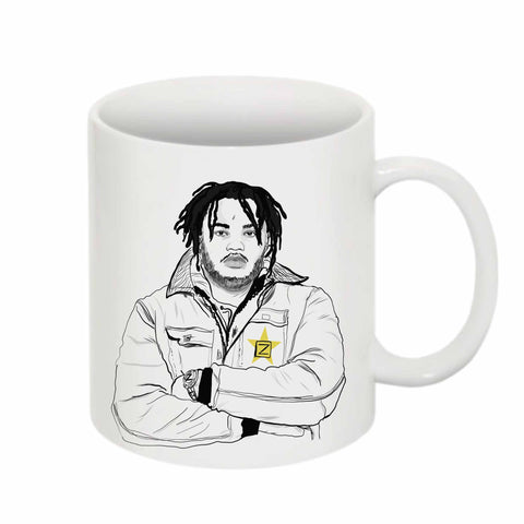Tee Grizzley 11 0Z Ceramic White Mug