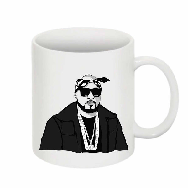 Young Jeezy 11 0Z Ceramic White Mug // Babes & Gents // www.babesngents.com