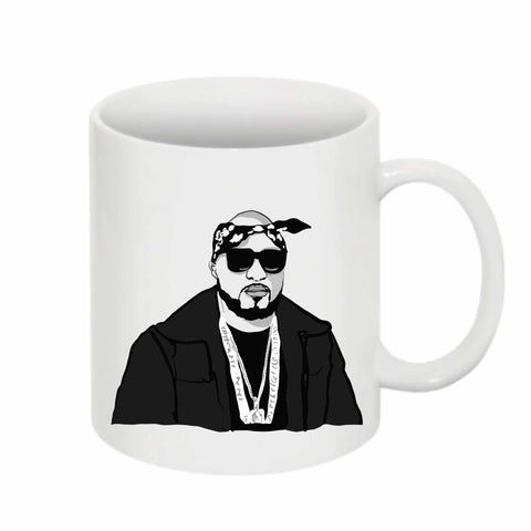 Young Jeezy 11 0Z Ceramic White Mug