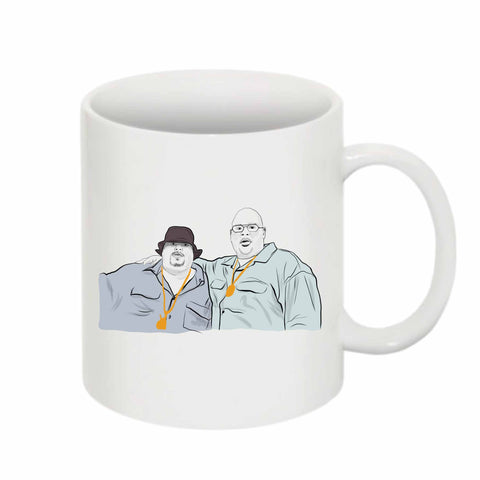 Fat Joe and Big Pun 11 0Z Ceramic White Mug