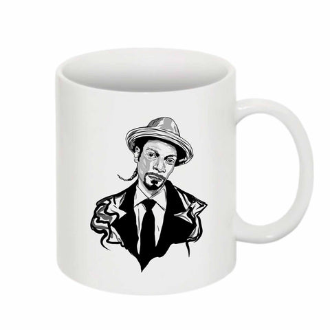 Snoop Dogg 11 0Z Ceramic White Mug