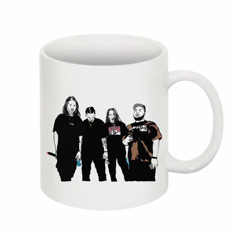 Seshollowaterboyz 11 0Z Ceramic White Mug