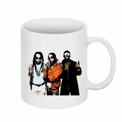 Quavo from migos 2.0 11 0Z Ceramic White Mug