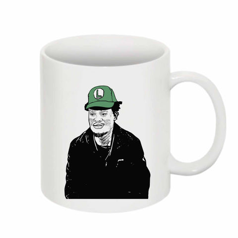 Ugly God 11 0Z Ceramic White Mug