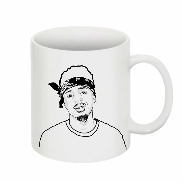 Metro Boomin 11 0Z Ceramic White Mug // Babes & Gents // www.babesngents.com
